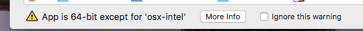 app is 64-bit except for osx-intel.png